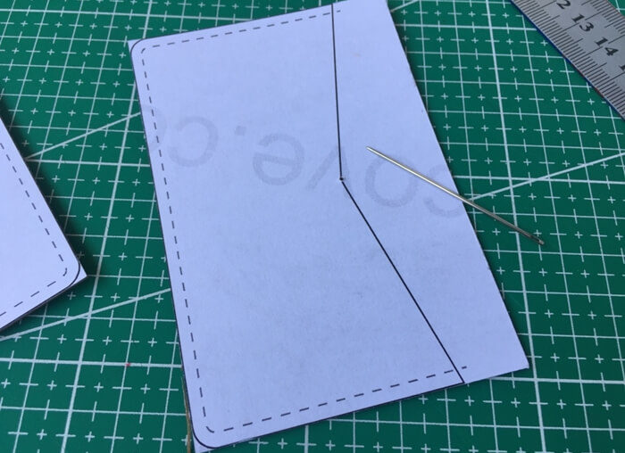 making leather template (2)
