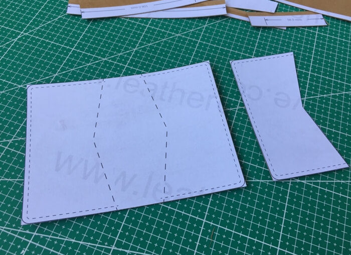 making leather template (4)