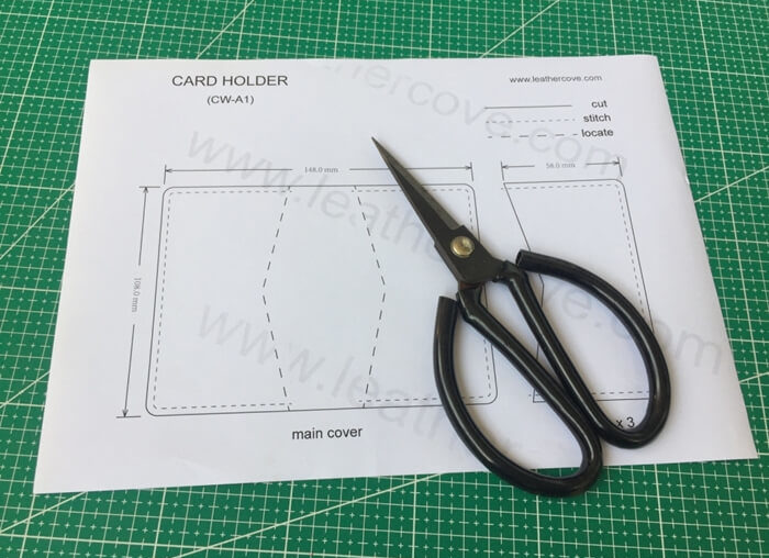 making leather template (9)