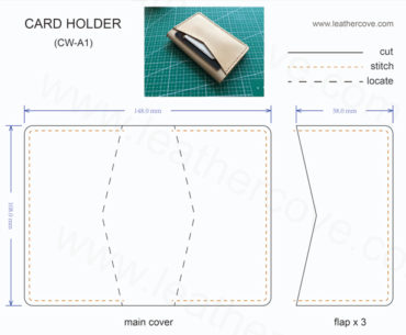 wallet photo template