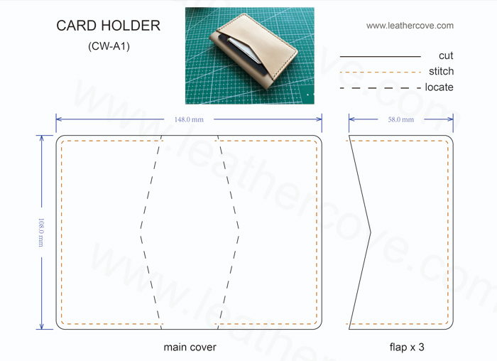 leather card wallet pattern pdf (2)