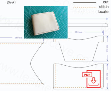 Free Leather Craft Patterns And Tutorials Free Pdf Leather Wallet