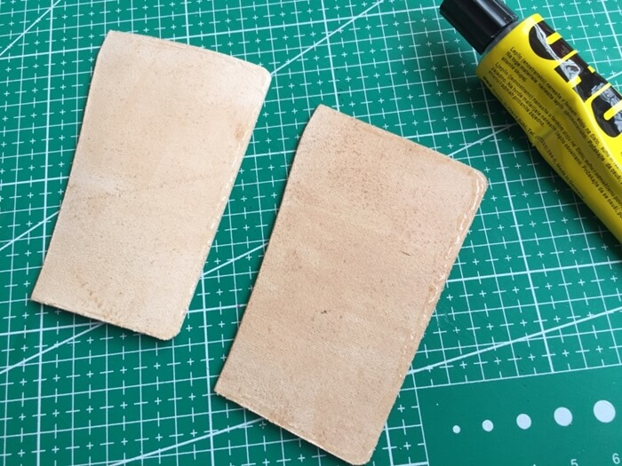 make a leather card holder (14)