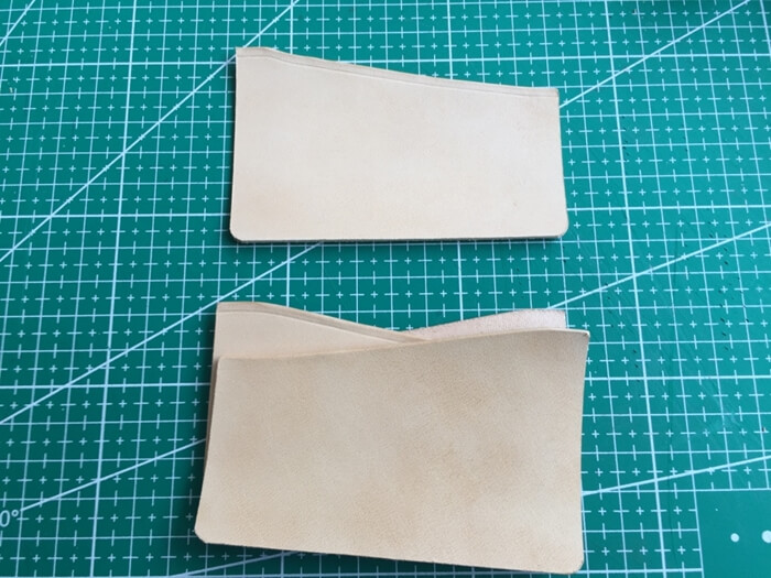 make a leather card holder (15)