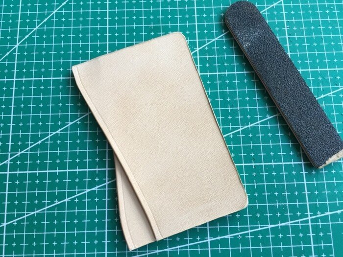 make a leather card holder (17)