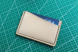make a leather card holder (30)