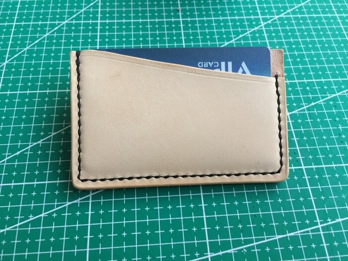 make a leather card holder (31)
