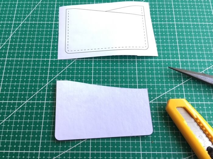make a leather card holder (32)