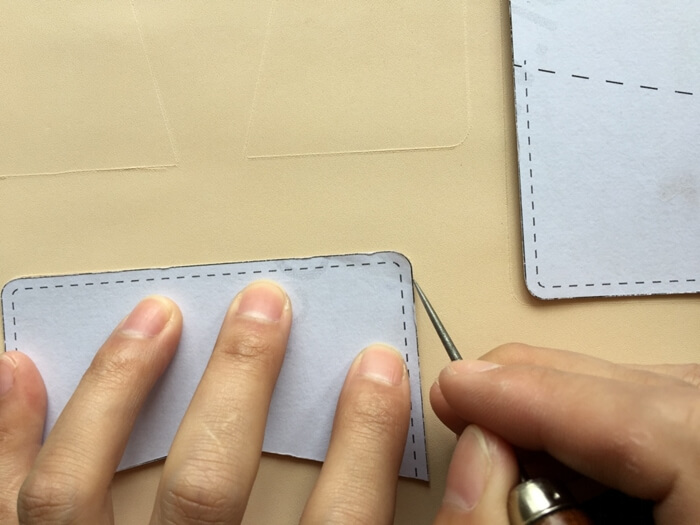 make a leather card wallet (2)