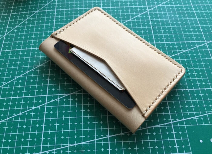 make a leather card wallet (84)