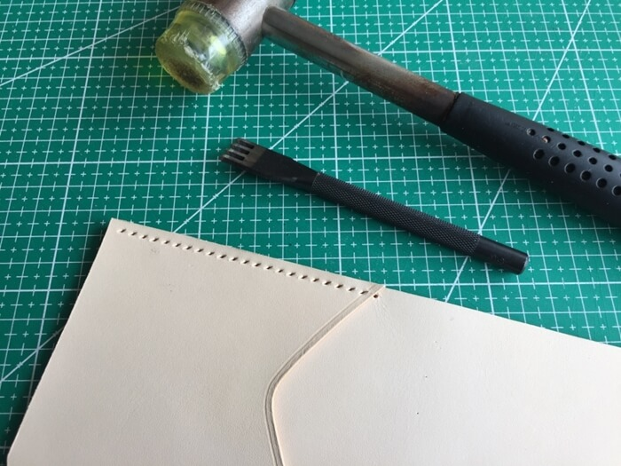 make a leather wallet (13)