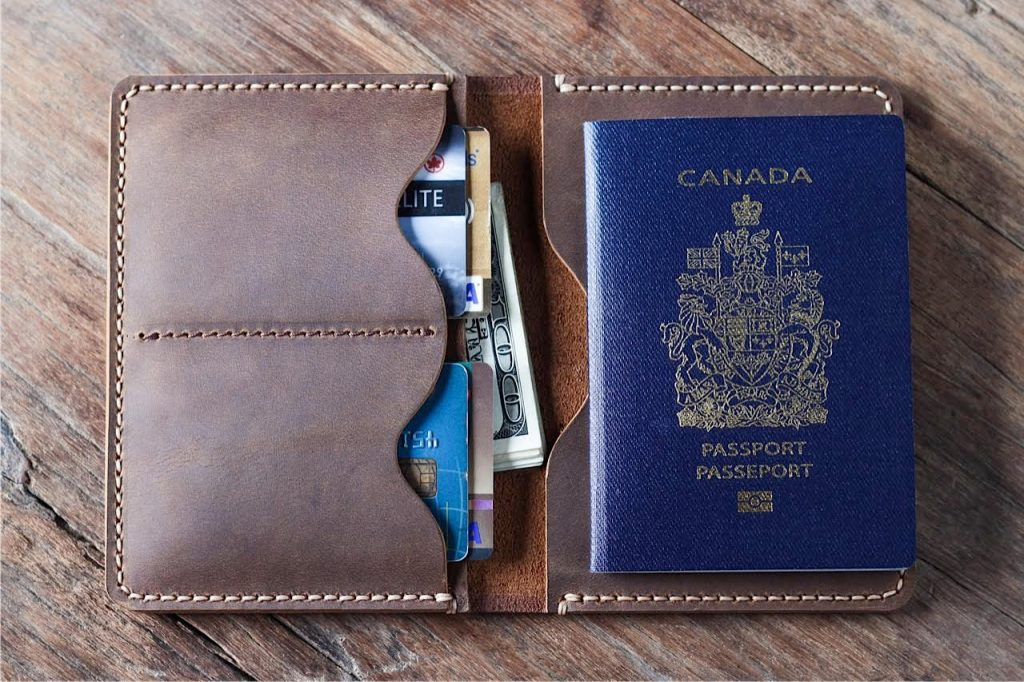 passport wallet pattern 1